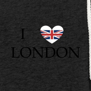 London - Lätt luvtröja unisex