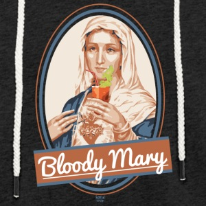 Bloody Mary and drink - Light Unisex Sweatshirt Hoodie