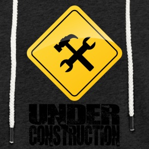 Under Construction - Lätt luvtröja unisex