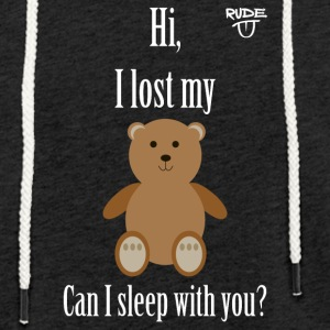Teddy Pickup Line - Light Unisex Sweatshirt Hoodie