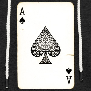 Games Card Ace Of Spades - Light Unisex Sweatshirt Hoodie