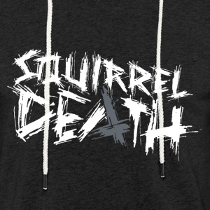 SQUIRREL DEATH - Original Logo - Light Unisex Sweatshirt Hoodie
