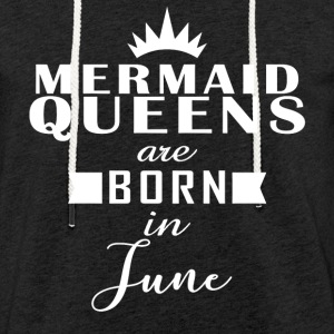 Mermaid Queens juni - Lätt luvtröja unisex