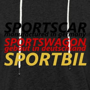 Sports Car - Light Unisex Sweatshirt Hoodie