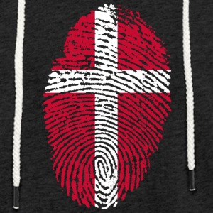 DANMARK 4 EVER COLLECTION - Lett unisex hette-sweatshirt