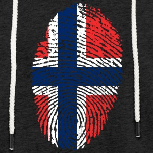 Fingerprint - Norway - Light Unisex Sweatshirt Hoodie