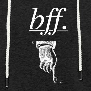 best friend forever - Light Unisex Sweatshirt Hoodie