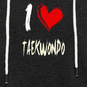 I Love TAEKWONDO - Light Unisex Sweatshirt Hoodie