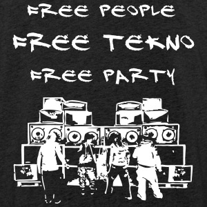 Free people - Free tekno - Free party - Light Unisex Sweatshirt Hoodie