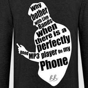 Phone protest - Light Unisex Sweatshirt Hoodie