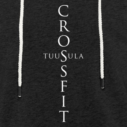 CrossFit Tuusula risti - Kevyt unisex-huppari