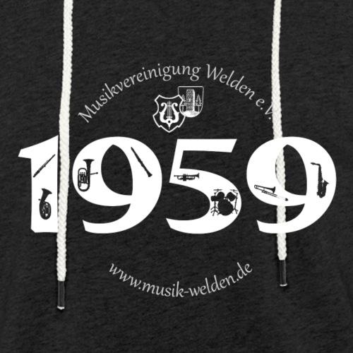 1959 Instrumente ws - Leichtes Kapuzensweatshirt Unisex