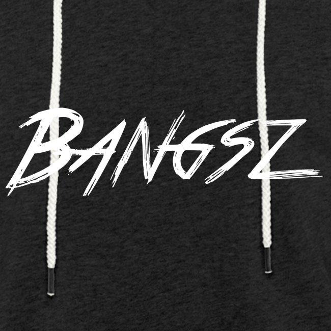 Bangsz Sweater- White print