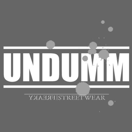 Undumm - Leichtes Kapuzensweatshirt Unisex