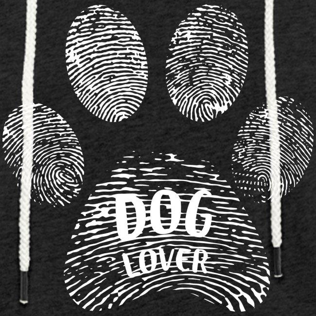 Vorschau: dog lover paw - Leichtes Kapuzensweatshirt Unisex