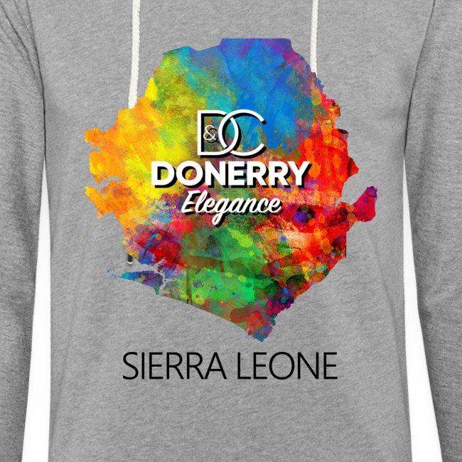 Sierra Leone Colurful Map