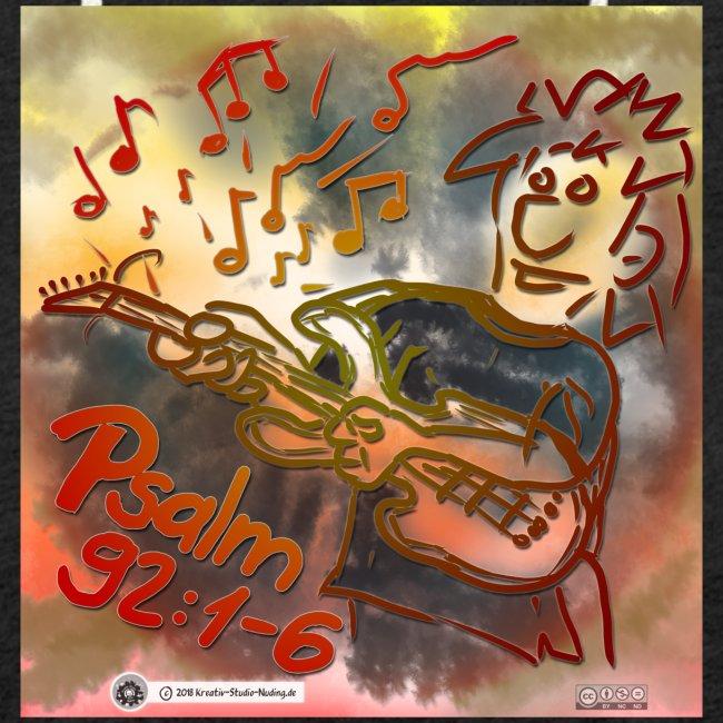 Design E Gitarre Links Psalm 92 1-6