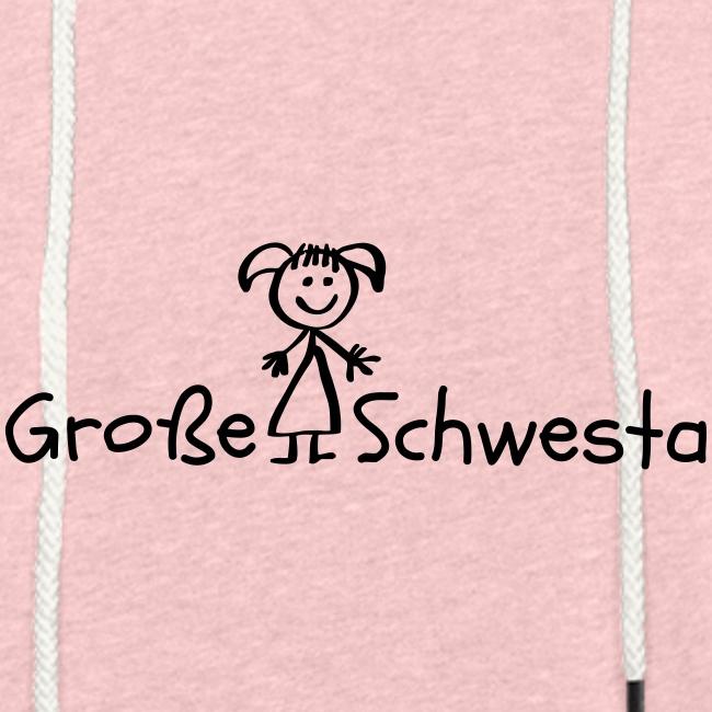 Vorschau: Grosse Schwesta - Leichtes Kapuzensweatshirt Unisex