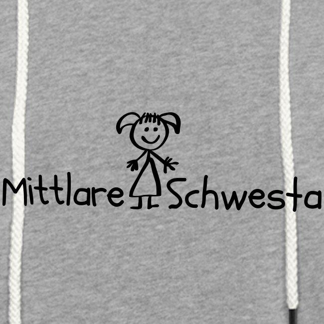 Vorschau: Mittlare Schwesta - Leichtes Kapuzensweatshirt Unisex