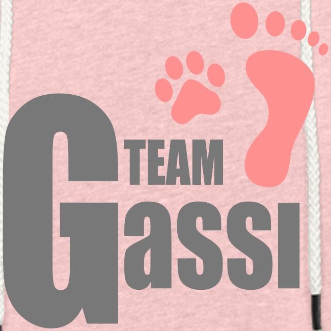 Vorschau: Team Gassi - Leichtes Kapuzensweatshirt Unisex