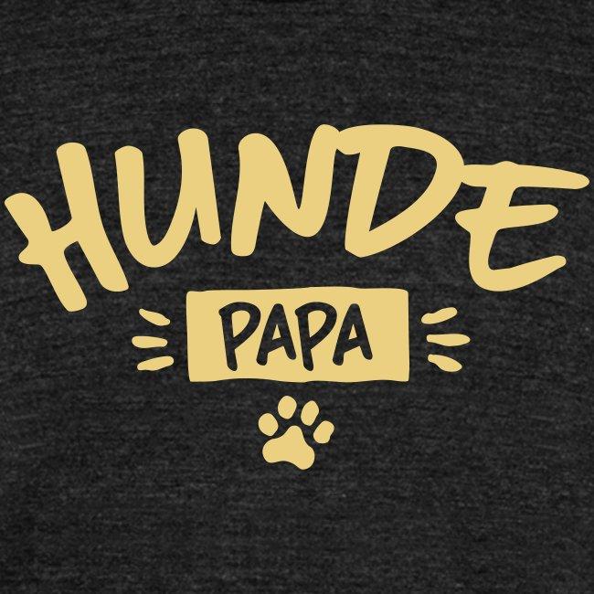 Vorschau: Hunde Papa - Unisex Tri-Blend T-Shirt von Bella + Canvas