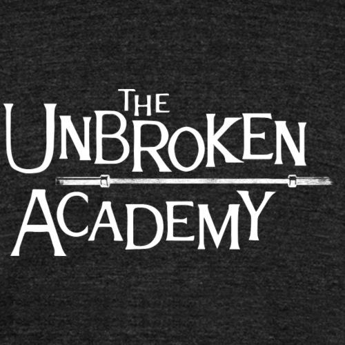 UNBROKEN ACADEMY - barbell - T-shirt chiné Bella + Canvas Unisexe
