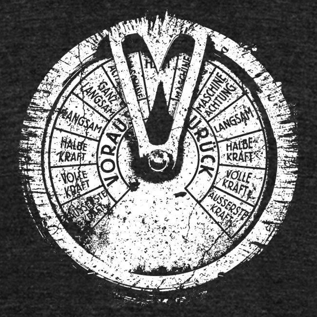 Maschinentelegraph (white oldstyle)
