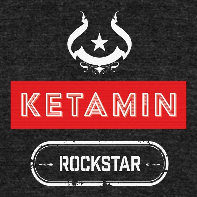 KETAMIN Rock Star - Weiß/Rot - Modern