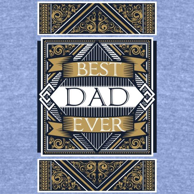 Best Dad Ever Retro Vintage Limited Edition