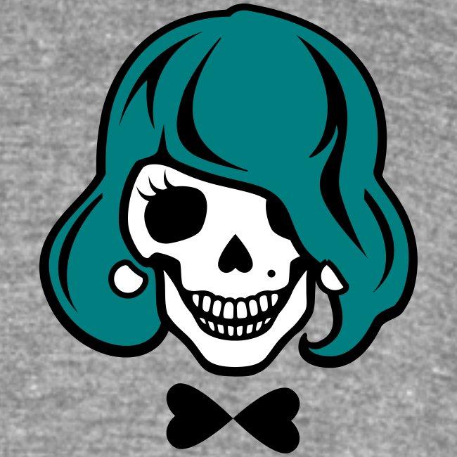 Skelett zum Haare färben