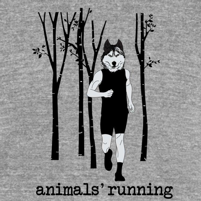 Loup running