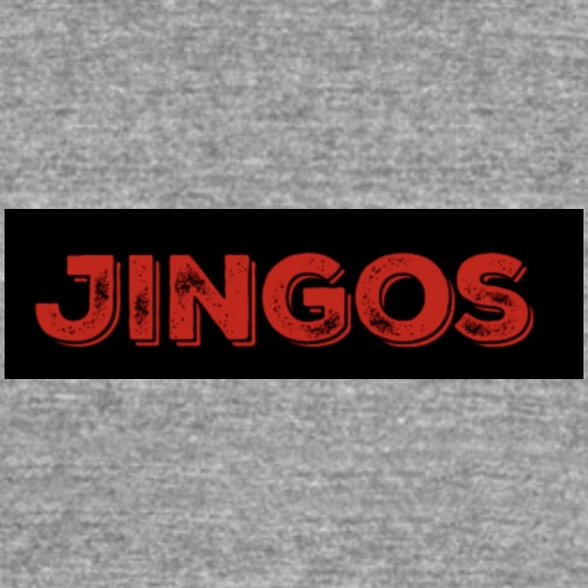 Jingos tee - Black on white
