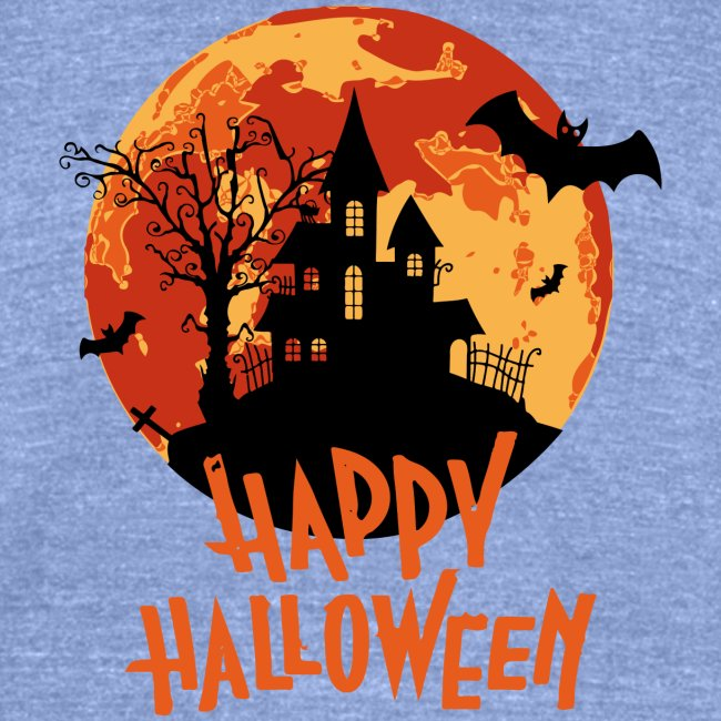 Bloodmoon Haunted House Halloween Design