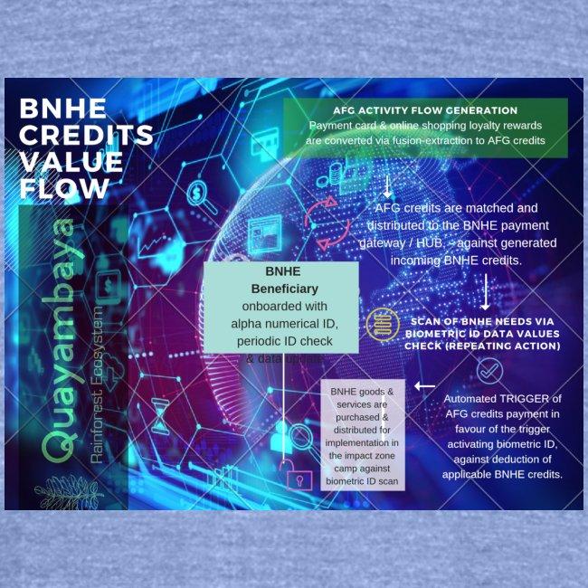 BNHE Credits generating digital value flow