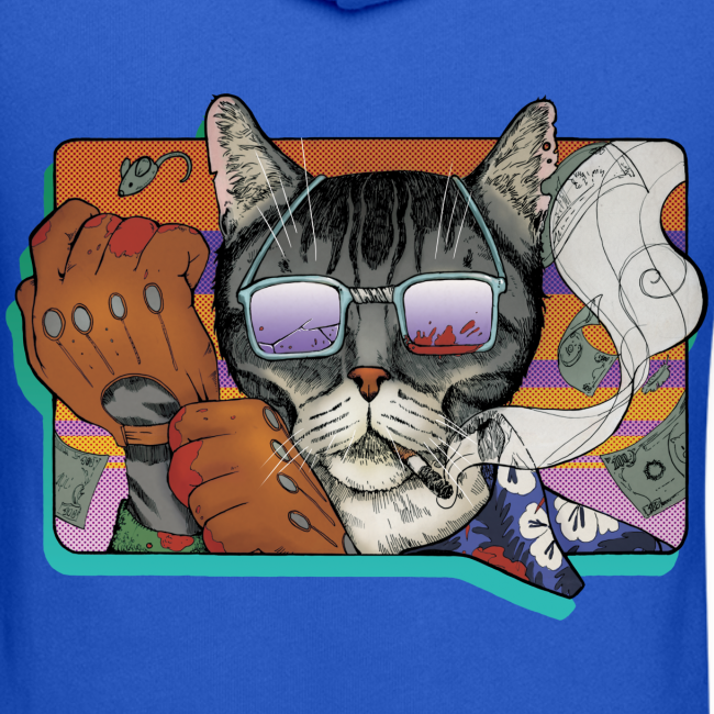 Crime Cat in Shades