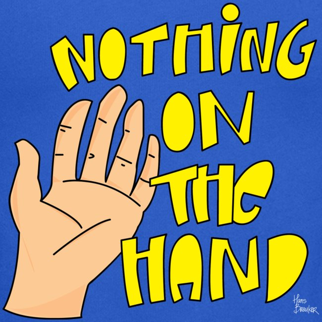 Nothing on the hand