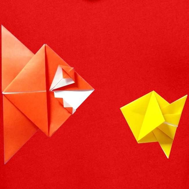 Origami Piranha and Fish - Fish - Pesce - Peixe
