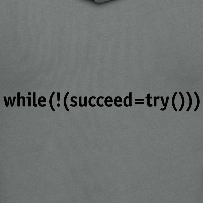 While not succeed, try again.