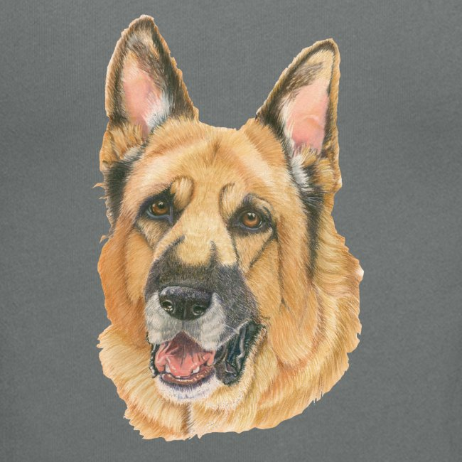 german shepherd color
