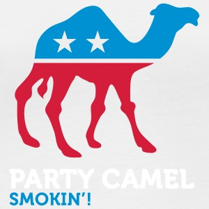 Political Party Animals: Camel - Women's Organic Longsleeve