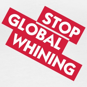 Stop Global Whining - T-shirt manches longues bio Femme