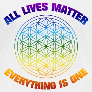 YOGA ALL LIVESMATTER EVERYTHING IS ONE SHIRT - Women's Organic Longsleeve