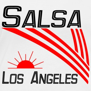 Salsa Los Angeles Classic - Pro Dance Edition - Langarmet øko-T-skjorte for kvinner