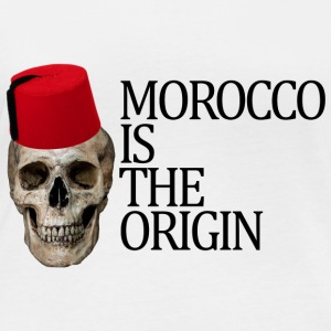 Morocco Is The Origin - T-shirt manches longues bio Femme