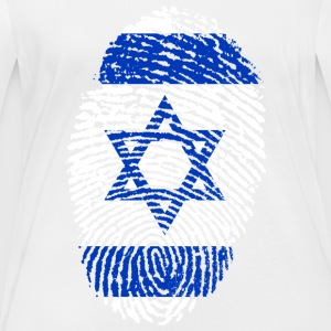 ISRAEL 4 EVER COLLECTION - Vrouwen biologisch shirt met lange mouwen