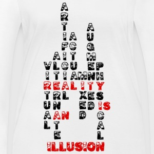 Reality is an illusion - Women's Organic Longsleeve