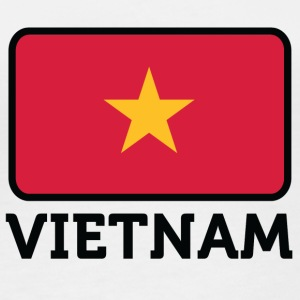 National Flag Of Vietnam - Langærmet øko-dame-T-shirt