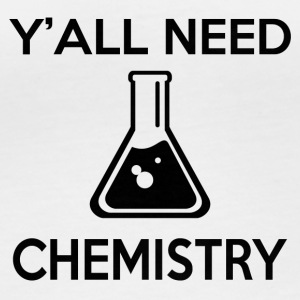 Y'ALL NEED CHEMISTRY - Frauen Bio-Langarmshirt