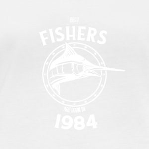 Present for fishers born in 1984 - Women's Organic Longsleeve