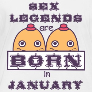 Birthday January Boobs Sex Tits Busted - Women's Organic Longsleeve